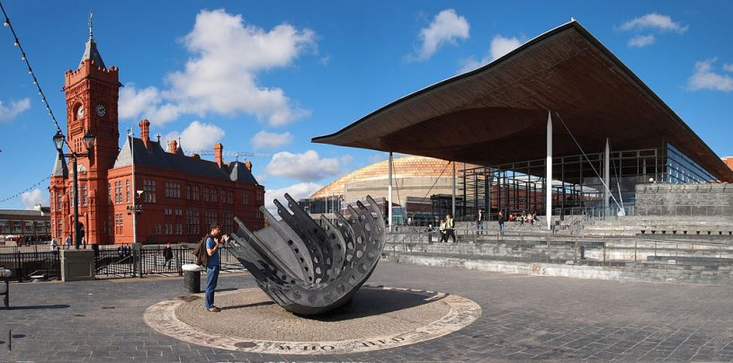 Cardiff bay and the National Assembly for Wales